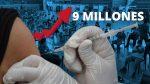 Ecuador llega a los 9 millones de vacunados contra covid-19