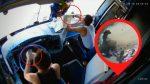 Conductor de bus causa accidente por el uso del celular en Ecuador