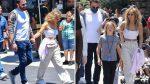 Hijo de Ben Affleck comparte con los gemelos de Jennifer Lopez