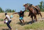 EE.UU. deja de usar caballos en la operaciones con migrantes en la frontera
