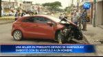 Así fue el mortal accidente en el norte de Guayaquil