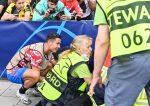 La reacción de Cristiano Ronaldo tras el pelotazo a una mujer en la Champions League