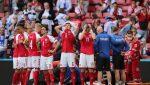 El futbolista danés Eriksen envía saludos a sus compañeros de la selección desde el hospital
