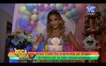 VIDEO | Mira quienes prepararon el baby shower sorpresa para Grace Castro