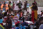 Unos 19.000 migrantes haitianos están varados cerca de frontera entre Colombia y Panamá