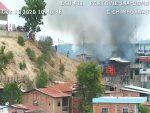 VIDEO | Gran incendio en local de Portoviejo, provincia de Manabí
