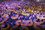 China defiende la masiva fiesta tecno en piscina en ciudad epicentro del coronavirus