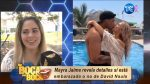 """VIDEO  ¿Mayra Jaime está embarazada? """"Una niña"""""""