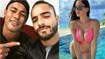 Escándalo en las redes: Neymar se burla de Maluma tras 'robarle' la novia