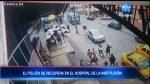 Policía se recupera tras fuerte impacto por un carro en Quito