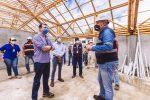 Ministerio de Desarrollo Urbano y Vivienda constató avance de obras en Esmeraldas