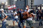 """FOTOS: """"Ahora hay odio y sangre entre nosotros"""": libaneses protestan tras explosión en Beirut"""
