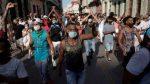 Miles de personas protestas en Cuba contra el Gobierno
