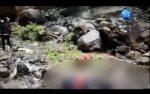 VIDEO | Una mujer de 56 años se suicidó tras lanzarse de una quebrada