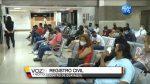 VIDEO | Ciudadanos esperan para sacar su cédula en el Registro Civil