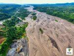 Ministerio de Transporte y Obras Públicas realizó una inspección preliminar en la vía Macas – Puyo, ante desbordamiento del río Upano