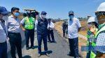 El ministro de Transporte y Obras Públicas recorrió corredor vial de la Costa y el puerto de Posorja