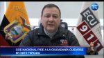 COE Nacional pide a la ciudadanía cuidarse durante este feriado